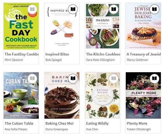 cookbooks overdrive