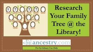 ancestry family tree