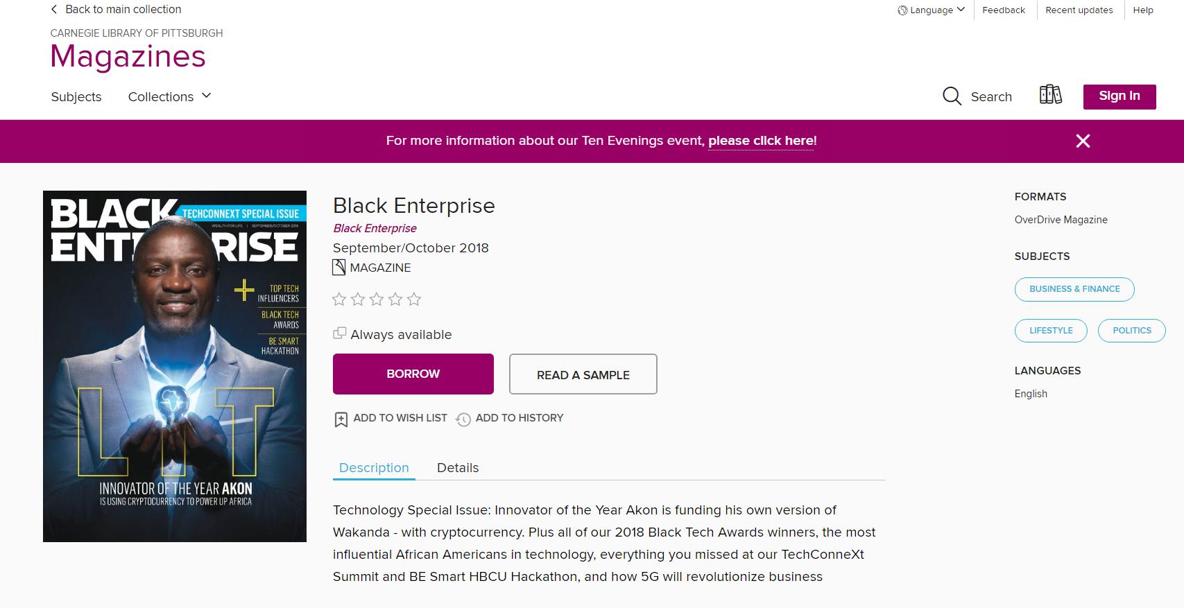 OD Magazine - Black Enterprise