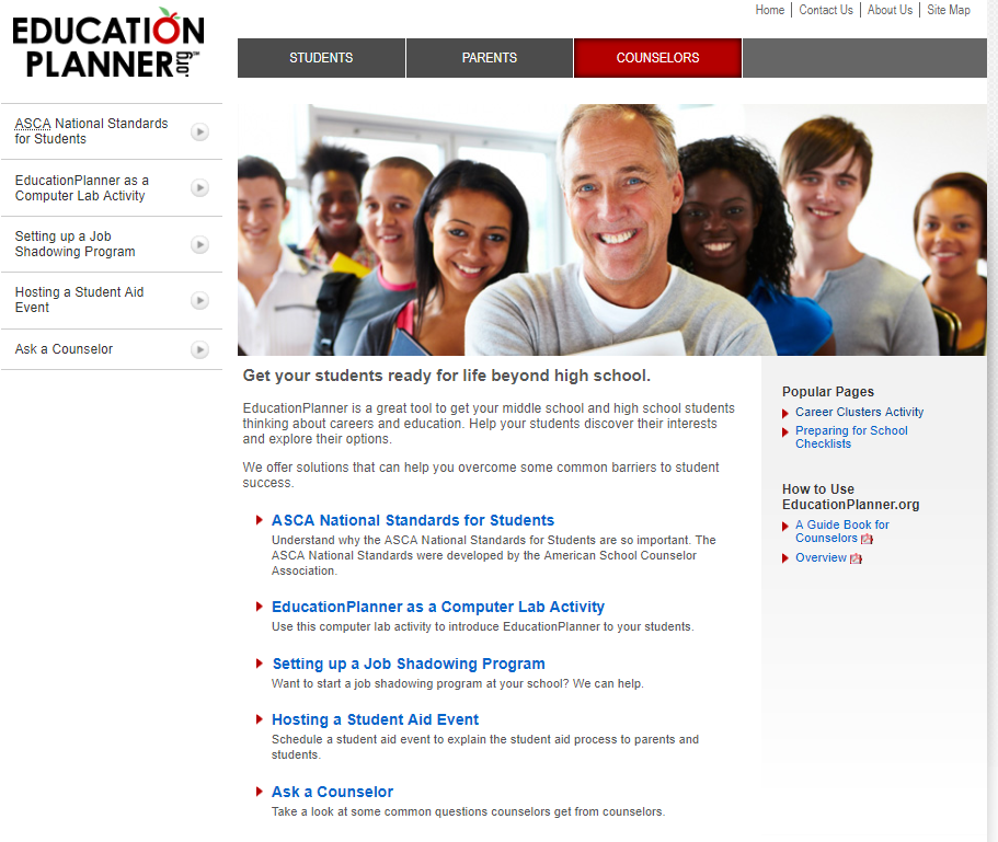 education planner counselors