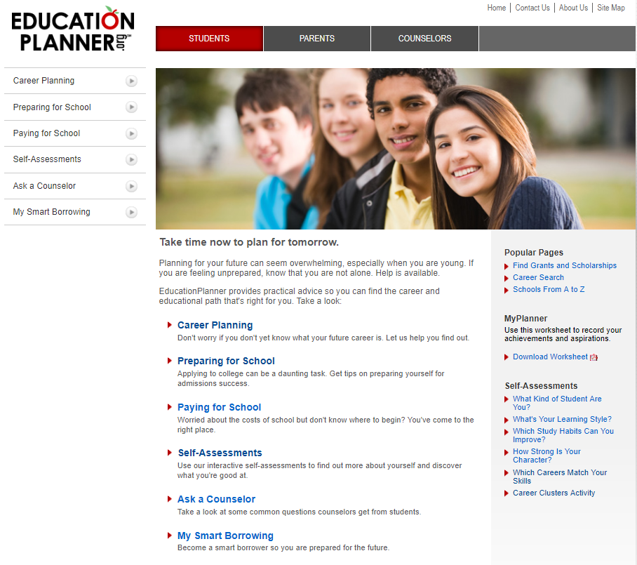 education planner student