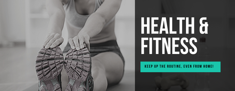 You are currently viewing Health & Fitness from Home